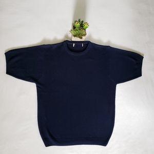 Vintage navy blue sweater